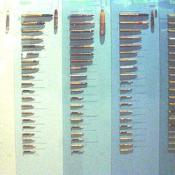 These are some of the different ammunitions that have been used by different countries.