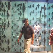 Here is a further view of the model plane wall.