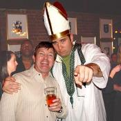 Our good friend the Pope really loosens up when  he gets a couple of drinks in him
