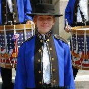 Grand Opening Ceremony - F Street Entrance - fife and drum band member