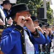 Grand Opening Ceremony - F Street Entrance - patriotic flute players