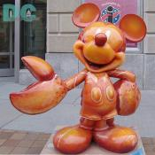 "'Celebrate Mickey: 75 InspEARations' Statue - Lobsta Mickey - BREANNA ROWLETTE was deemed Radio Disney AM 1260s Kid Correspondent in March of 2003. This eight-year-old from Lowell, Massachusetts wowed the judges by conducting a flawless interview with one of the world-renowned Harlem Globetrotters. Quite a ""feet"" for a 4-foot little girl to take on a six-foot-six basketball player!"