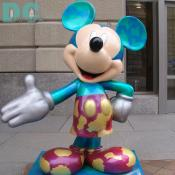 'Celebrate Mickey: 75 InspEARations' Statue - Wonderful World of Mickey - KATHRYN E. MORGAN is a 13-year-old girl from southern New Jersey. Katie is proud to have the opportunity to create a statue for Disney. She has an interest in performing arts and is the winner of a Junior Miss Pageant.