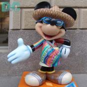 "'Celebrate Mickey: 75 InspEARations' Statue - Viva Mickey - Luis was born in LaGrange, Illinois, and is one of six children. In his elementary school classes, Luis maintains an ""A"" average."