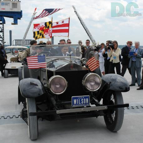 Woodrow Wilson Bridge Dedication