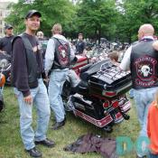 These guys belong to the McRauders Motorcycle Chapter of Virginia.
