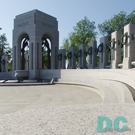 The Pacific Theatre Memorial Arch.