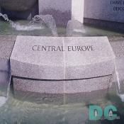 Dedication stone to the Central Europe campaign.