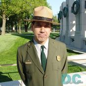 "Bill Line is the spokesperson for the National Park Service. ""The National Park Service welcomes all American and International visitors to view a tribute to a generation that gave the supreme sacrifice so that we can enjoy the freedoms we have today."""