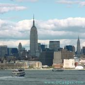Ferry service from Liberty State Park to Ellis Island and the Statue of Liberty is available throughout the year.