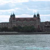 The Main Building, designed by Boring and Tilton, 1898 to 1900. Ellis Island was the leading Federal immigration station from 1892 to 1954.
