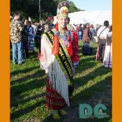Delana Smith, Miss Indian World is Ojibwe from the Red Lake Nation, Red Lake, Minnesota.
