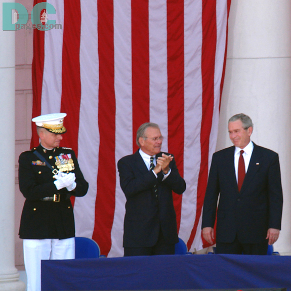 The Nation applauds President Bush.