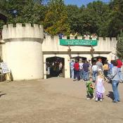The entrance to the Maryland Renaissance Festival