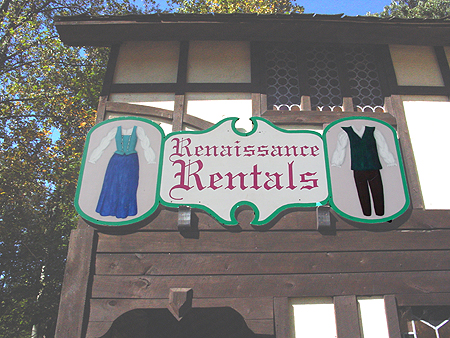 Renaissance rentals is where you can rent a costume