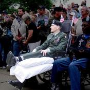 Washington DC Memorial Day Rolling Thunder USA Armed Forces and Veterans
